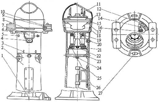 устройство компаса УКПМ-М1